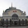 Железнодорожные вокзалы в Струги-Красные